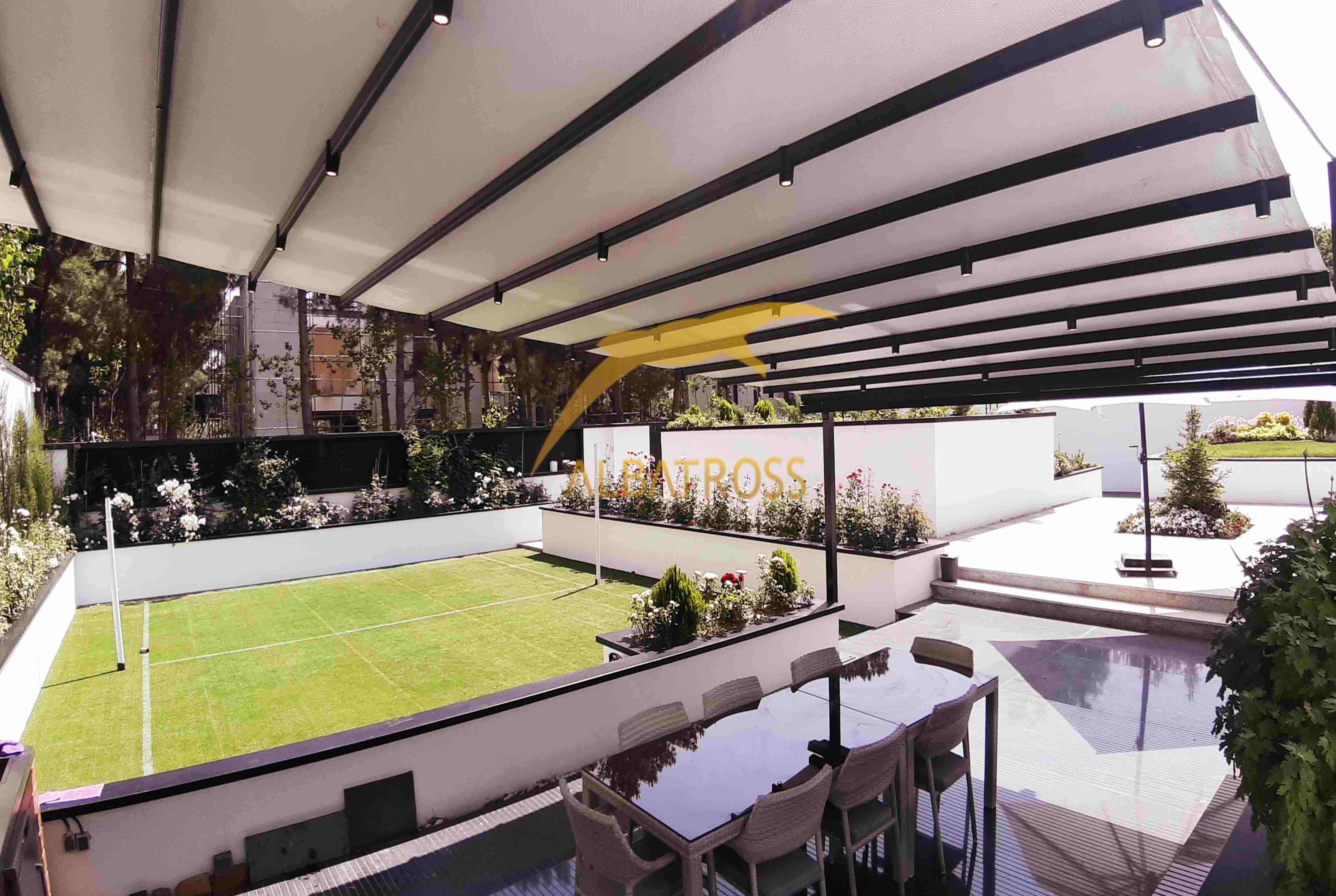 پروژه سقف متحرک محمدشهر کرج