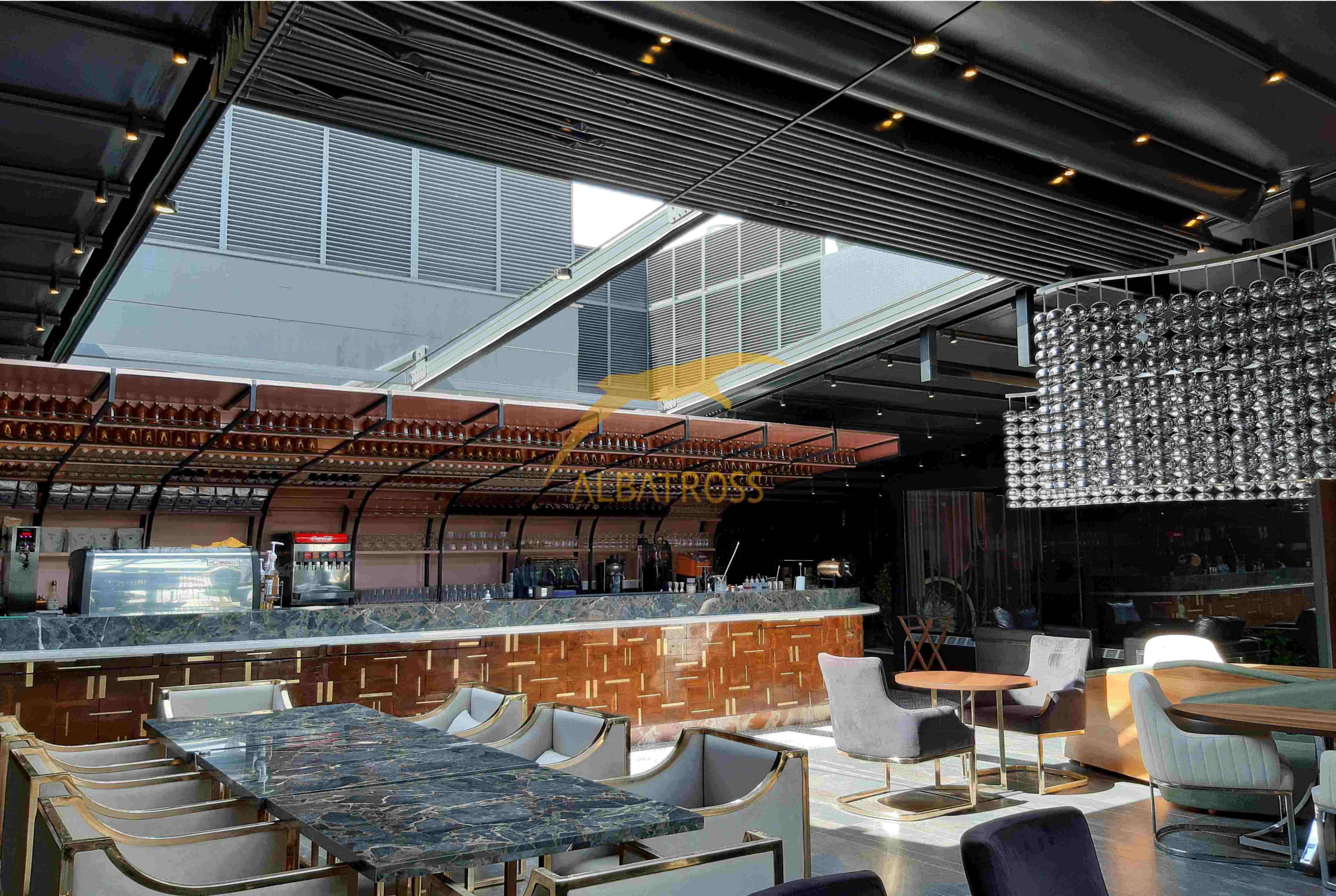 پروژه سقف متحرک روبل