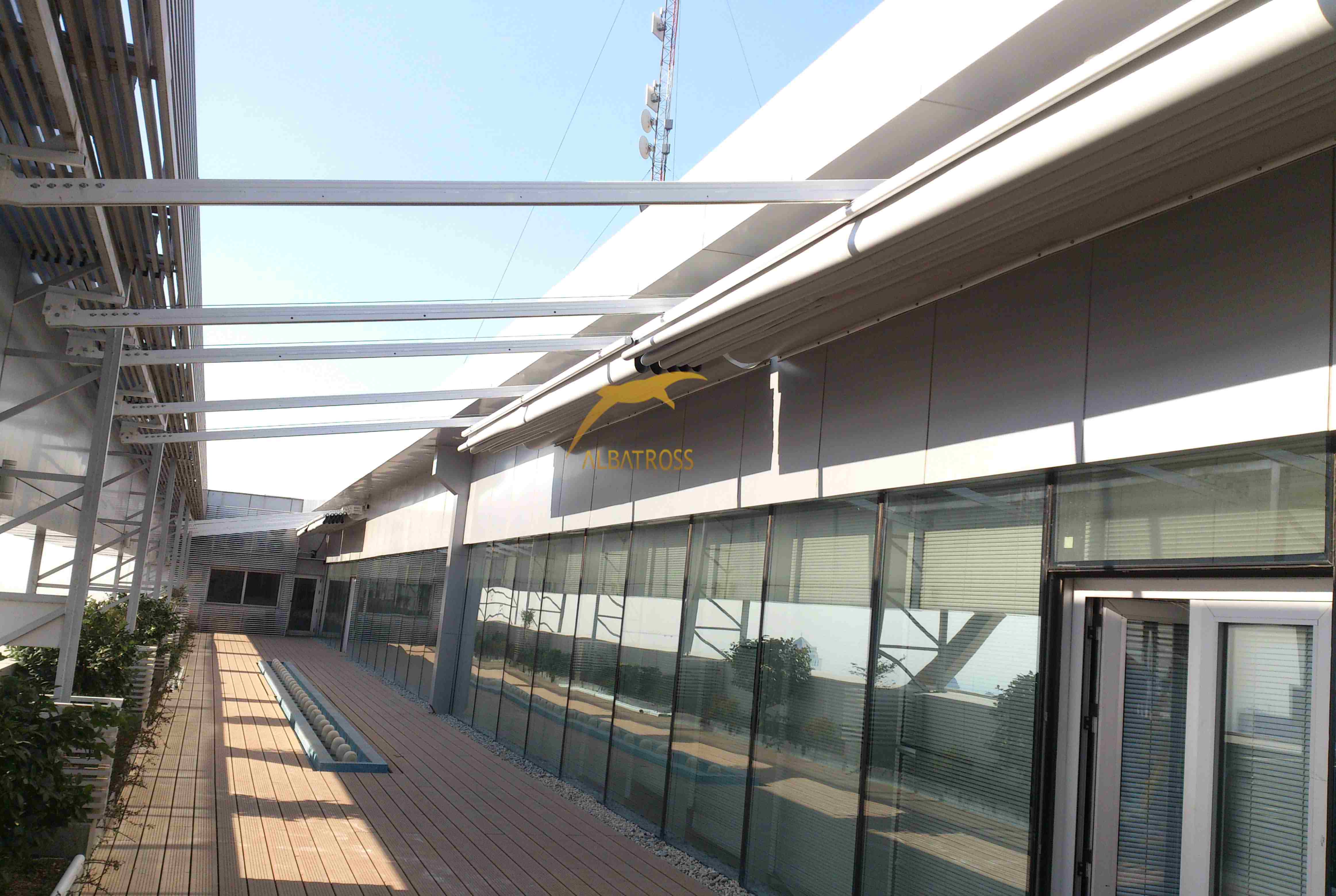 پروژه سقف متحرک بانک سپه