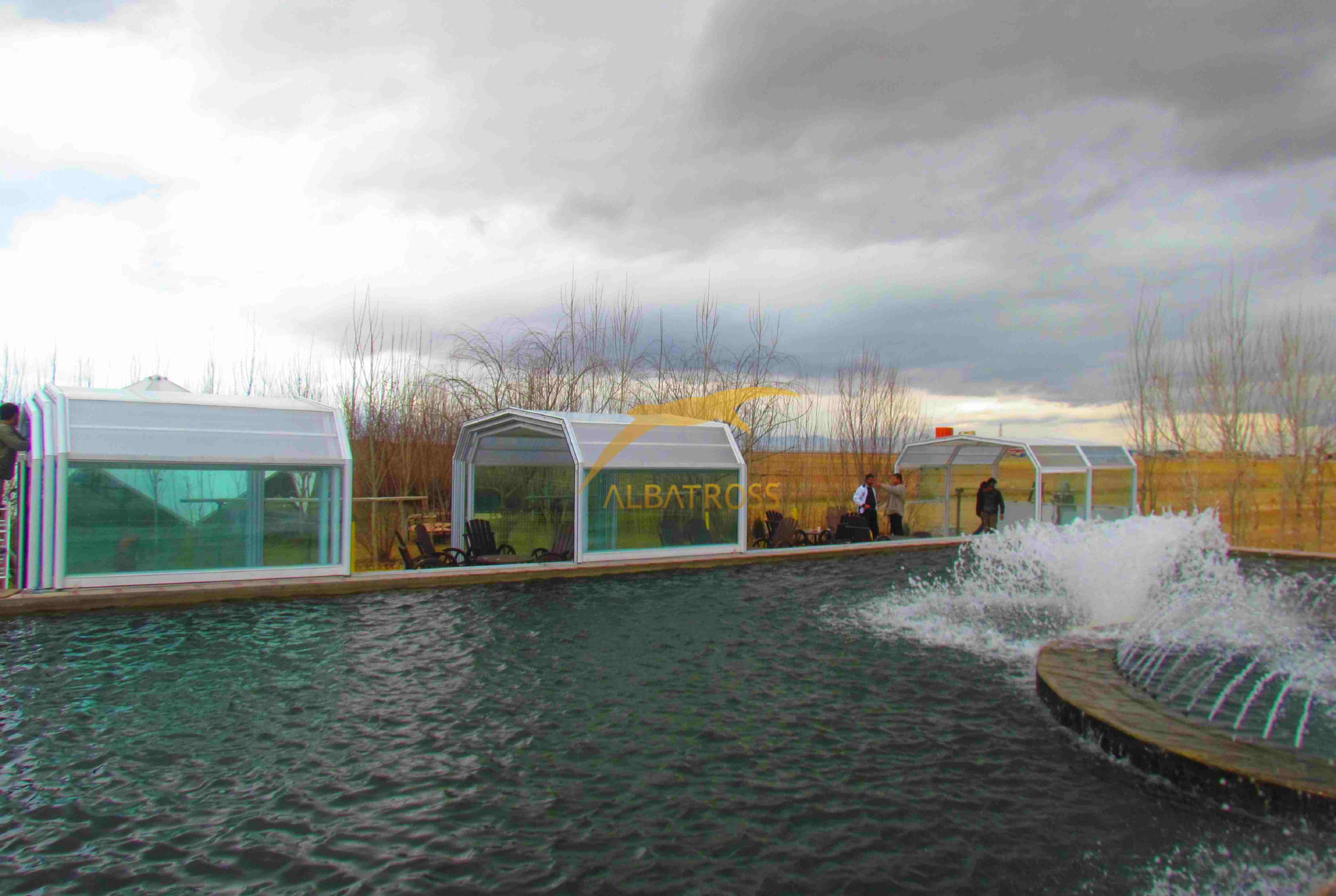 پروژه پرورش ماهی قزل پارک اراک
