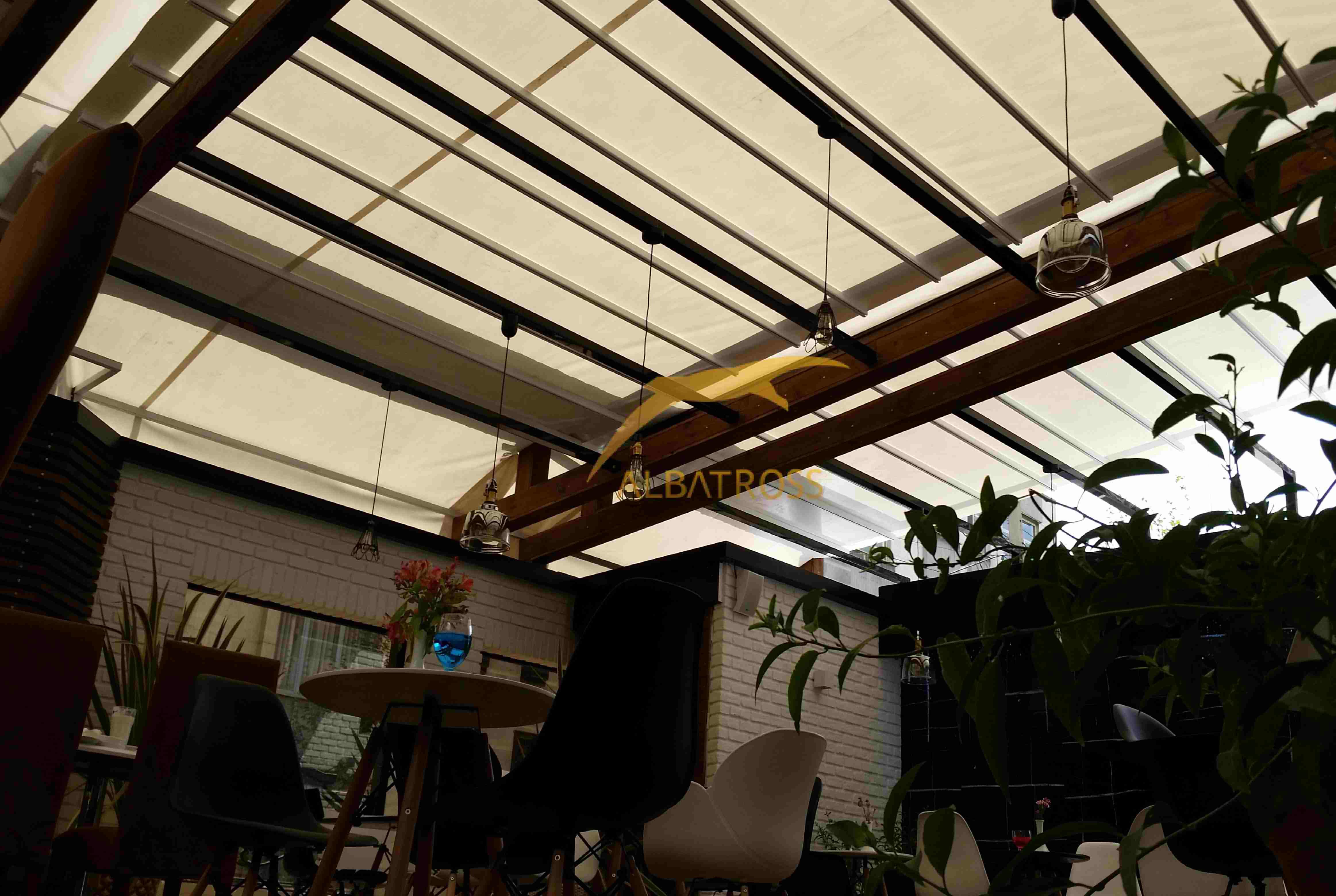 پروژه سقف متحرک هتل کوروش
