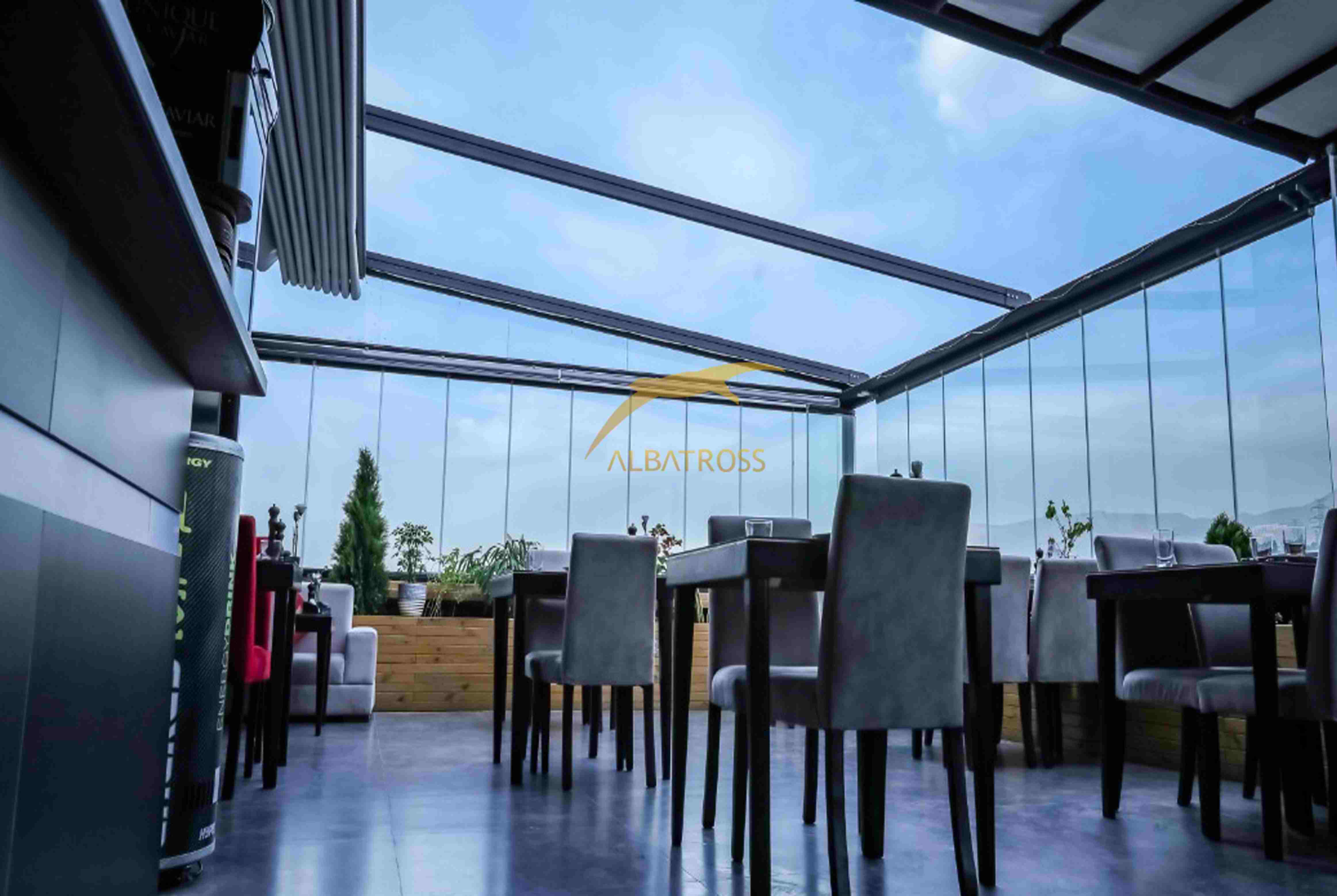 پروژه سقف متحرک رستوران 703